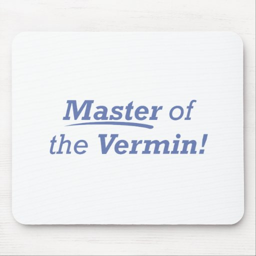 Master of the Vermin! Mousepad