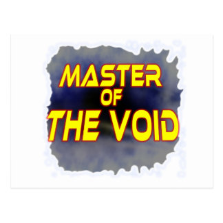 Master of the Void Postcard