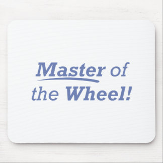 Master of the Wheel! Mouse Pad