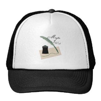 Master Of Words Trucker Hats