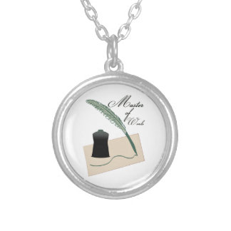 Master Of Words Personalized Necklace
