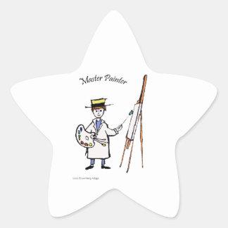 MASTER PAINTER STAR STICKER
