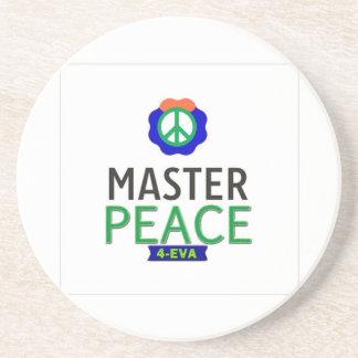 MASTER PEACE BEVERAGE COASTER