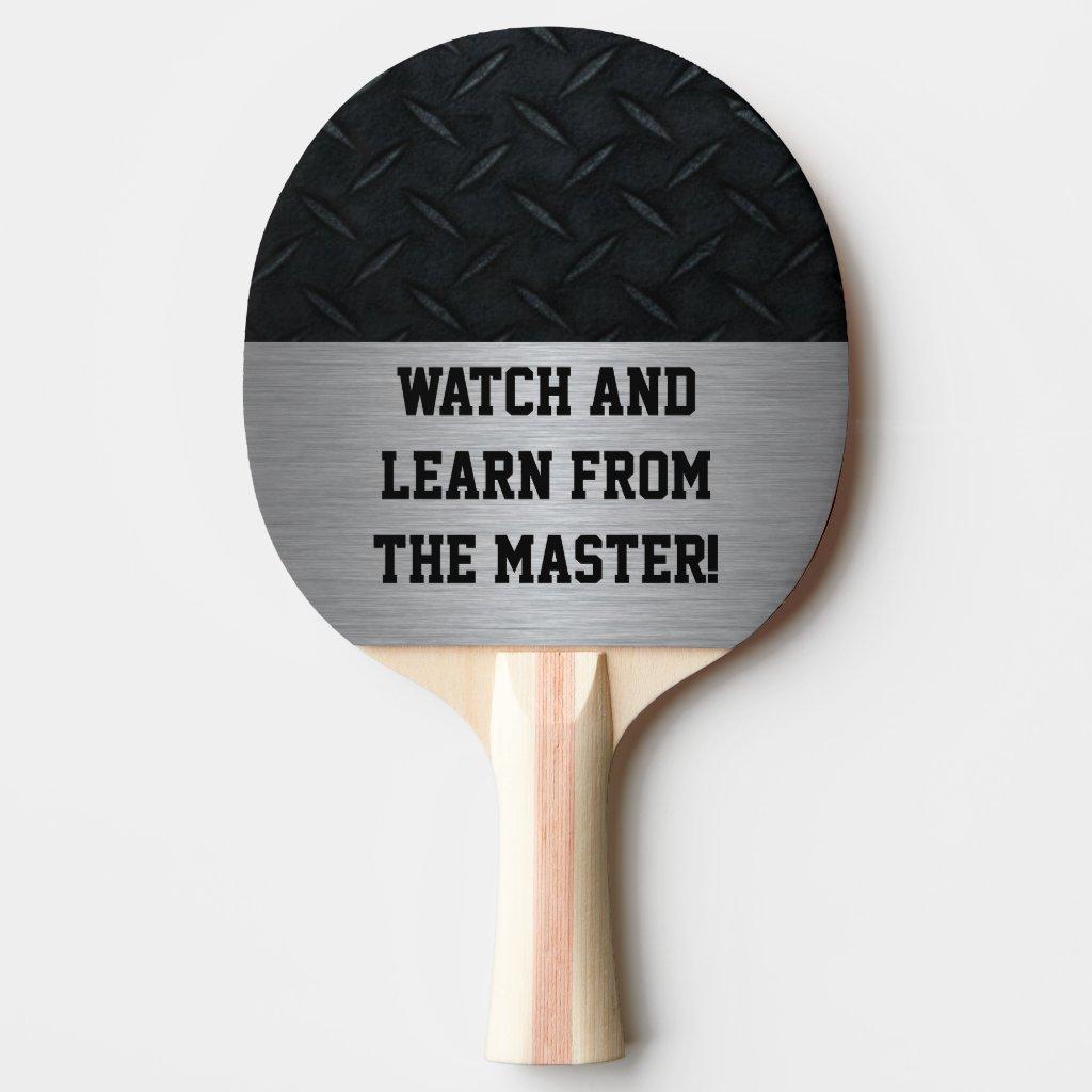Master Ping Pong Player Ping Pong Paddle