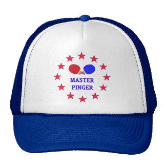 Master Pinger Ping Pong Hats