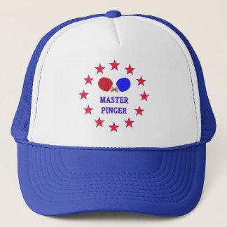 Master Pinger Ping Pong Trucker Hat