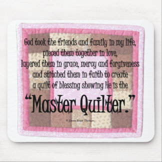 Master quilter mouse mat