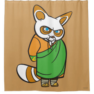 Master Shifu Shower Curtain