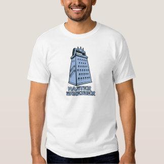 Master Shredder (cheese grater) T-shirts