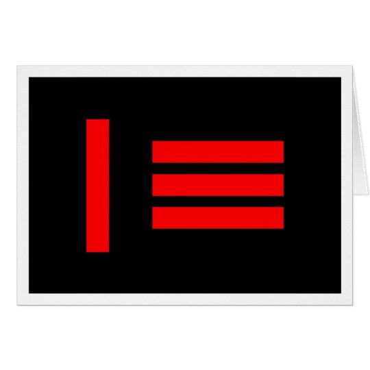 Master/slave Flag Card