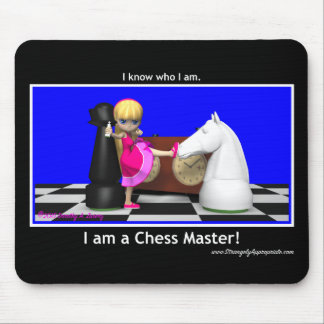 Master the Game (Chess Master) Mouse Pad