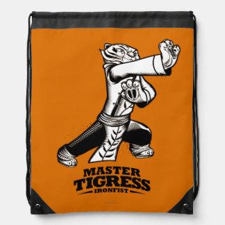 Master Tigress Ironfist Drawstring Bag