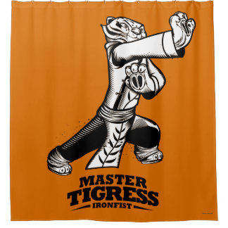 Master Tigress Ironfist Shower Curtain