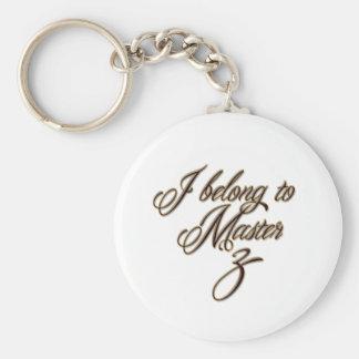 Master Z Key Ring