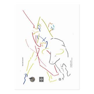Masterful postcard w Sketcher