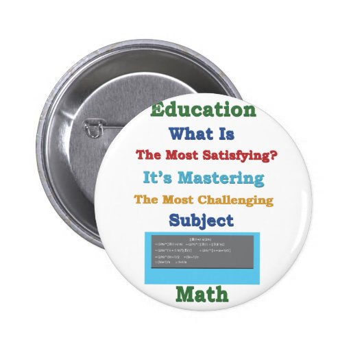 mastering satisfying Math 3D Pinback Buttons