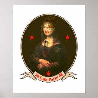 Masterpiece McCain Palin 2008 Poster