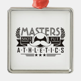 masters athletics shot put christmas ornament