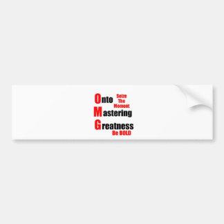Masters Degree Bumper Stickers