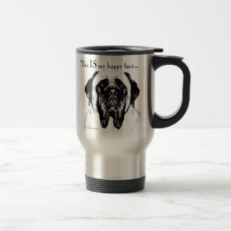 Mastiff134 15 Oz Stainless Steel Travel Mug