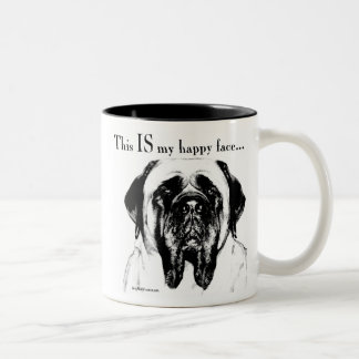 Mastiff134 Two-Tone Coffee Mug
