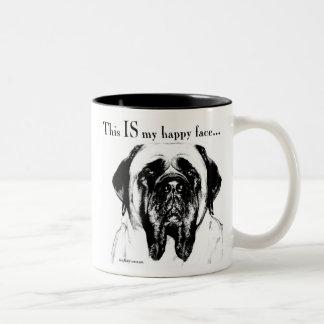 Mastiff134 Two-Tone Mug