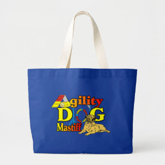 Mastiff Agility Dog Gifts Large Tote Bag