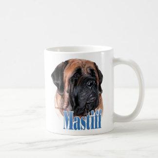 Mastiff (apricot2) Name Basic White Mug