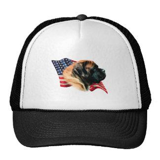 Mastiff (apricot) Flag Cap