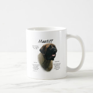 Mastiff (apricot) History Design Coffee Mug