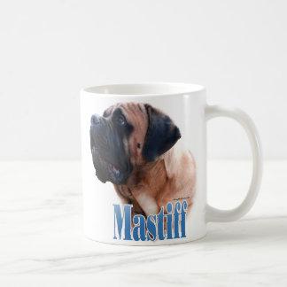 Mastiff (apricot) Name Basic White Mug