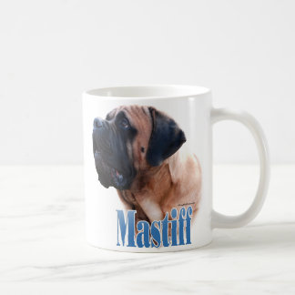 Mastiff (apricot) Name Coffee Mug