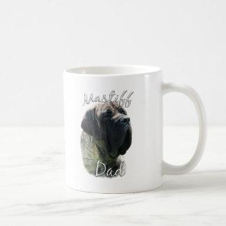 Mastiff (brindle) Dad 2 Basic White Mug