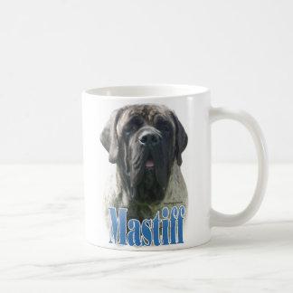 Mastiff (brindle) Name Basic White Mug