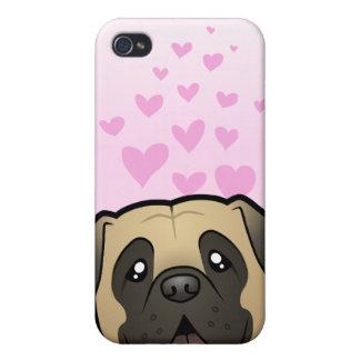 Mastiff / Bullmastiff Love Case For The iPhone 4