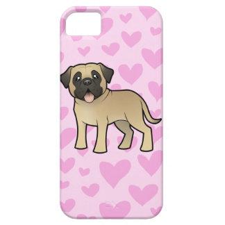 Mastiff / Bullmastiff Love Case For The iPhone 5