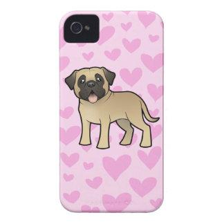 Mastiff / Bullmastiff Love Case-Mate iPhone 4 Cases