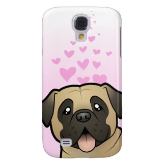 Mastiff / Bullmastiff Love Galaxy S4 Case