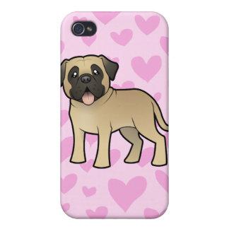 Mastiff / Bullmastiff Love iPhone 4/4S Covers