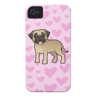 Mastiff / Bullmastiff Love iPhone 4 Covers