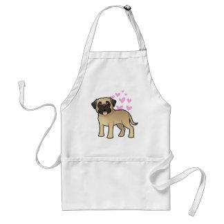 Mastiff / Bullmastiff Love Standard Apron