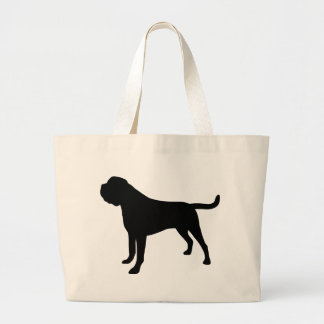 Mastiff Dog Large Tote Bag