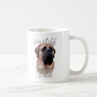 Mastiff (fawn) Dad 2 Basic White Mug