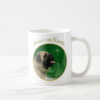 Mastiff (fawn) Peace Basic White Mug