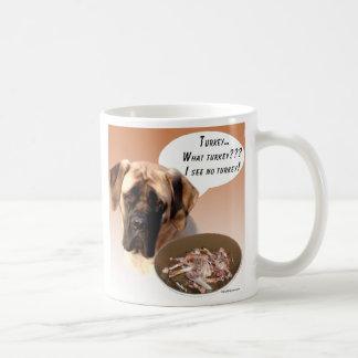 Mastiff fawn Turkey Coffee Mugs