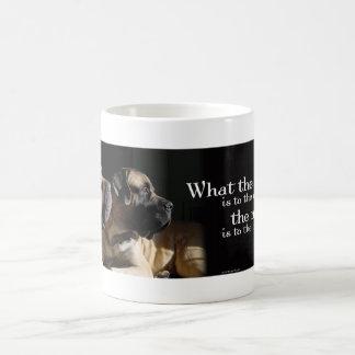 Mastiff Pair Mug