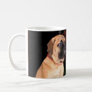 Mastiff puppy basic white mug