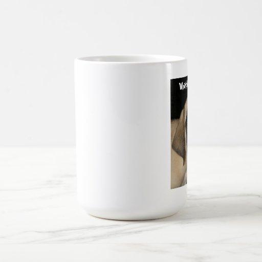 Mastiff Puppy Coffee Cup Mug