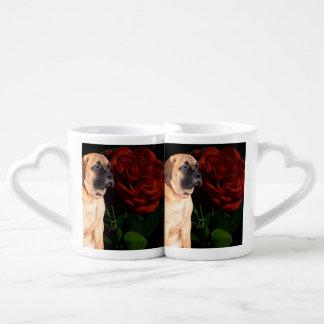 Mastiff puppy lovers mug
