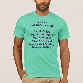 Mastiff Questions T-Shirt